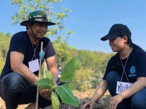 Read more about the article สมาชิกHKปลูกต้นกล้ากล้วย